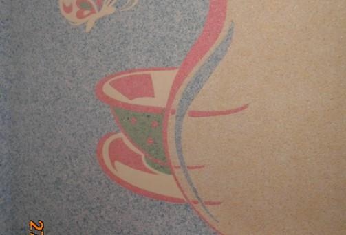 skysti tapetai silkplaster